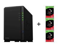 Synology DS218play 6TB (2xHDD, 4x1.4GHz, 1GB, 2xUSB, 1xLAN) - 463382 - zdjęcie 1
