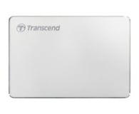 Transcend StoreJet C3S 2TB USB 3.2 Gen. 1 Srebrny - 551612 - zdjęcie 1