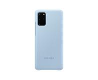 Samsung Clear View Cover do Galaxy S20+ Sky Blue  - 544146 - zdjęcie 2