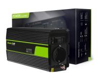Green Cell Przetwornica napięcia 12V na 230V 500W/1000W - 548209 - zdjęcie 3