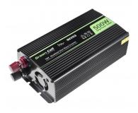 Green Cell Przetwornica napięcia 12V na 230V 500W/1000W - 548209 - zdjęcie 2