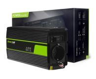 Green Cell Przetwornica napięcia 24V na 230V 500W/1000W - 548215 - zdjęcie 3