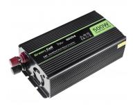 Green Cell Przetwornica napięcia 24V na 230V 500W/1000W - 548215 - zdjęcie 2