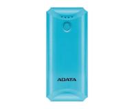 ADATA Power Bank P5000 (5000 mAh, niebieski) - 546276 - zdjęcie 1