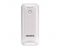 ADATA Power Bank P5000 (5000 mAh, biały) - 546275 - zdjęcie 1