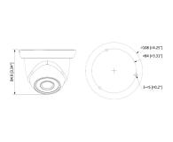 Dahua IPC 2MP 2,8mm IR 30m IP67 DC12V PoE - 555071 - zdjęcie 2