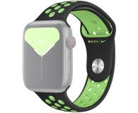 Apple Pasek Sportowy Nike do Apple Watch czarny/limetka  - 555253 - zdjęcie 1