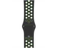 Apple Pasek Sportowy Nike do Apple Watch czarny/limetka  - 555253 - zdjęcie 2
