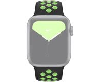 Apple Pasek Sportowy Nike do Apple Watch czarny/limetka - 555251 - zdjęcie 3