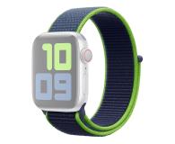 Apple Opaska Sportowa do Apple Watch neonowa limonka  - 553798 - zdjęcie 1