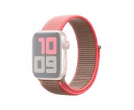 Apple Opaska Sportowa do Apple Watch neonowy róż  - 553797 - zdjęcie 1
