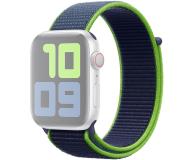 Apple Opaska Sportowa do Apple Watch neonowa limonka  - 553805 - zdjęcie 1