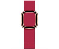 Apple Pasek z Klamrą Nowoczesną do Apple Watch malinowy  - 555244 - zdjęcie 1