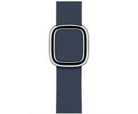 Apple Pasek z Klamrą Nowoczesną do Apple Watch błękit - 555246 - zdjęcie 1