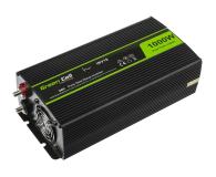 Green Cell Przetwornica napięcia 24V na 230V 1000W/2000W - 548232 - zdjęcie 1
