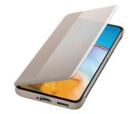 Huawei Smart View Flip Cover do Huawei P40 khaki - 559400 - zdjęcie 3