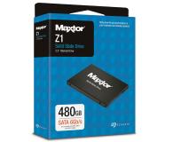 """Maxtor 480GB 2,5"""" SATA SSD Z1 - 526089 - zdjęcie 3"""
