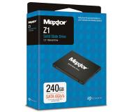 """Maxtor 240GB 2,5"""" SATA SSD Z1 - 526081 - zdjęcie 3"""