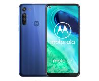 Motorola Moto G8 4/64GB Neon Blue - 560498 - zdjęcie 1