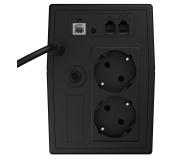 Green Cell UPS (600VA/360W, 2x Schuko, AVR, LCD) - 546062 - zdjęcie 2