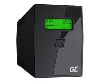 Green Cell UPS (600VA/360W, 2x Schuko, AVR, LCD) - 546062 - zdjęcie 1