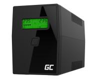 Green Cell UPS (800VA/480W, 2x Schuko, AVR, LCD) - 546063 - zdjęcie 1