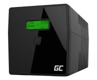 Green Cell UPS (1000VA/600W, 2xIEC, 2x Schuko, AVR, LCD) - 546064 - zdjęcie 1