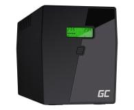 Green Cell UPS (1500VA/900W,  4x Schuko, AVR, LCD) - 546065 - zdjęcie 1