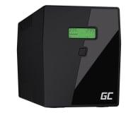 Green Cell UPS (2000VA/1400W, 3x IEC, 2x Schuko, AVR, LCD) - 546083 - zdjęcie 1