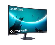 Samsung C27T550FDUX Curved - 563212 - zdjęcie 3