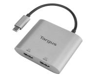Targus USB-C - 2xHDMI - 556196 - zdjęcie 1