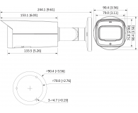 Dahua IPC 4MP 2,7-13,5mm IR 60m IP67 DC12V PoE - 555072 - zdjęcie 2