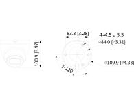 Dahua IPC 4MP 2,8mm IR 30m IP67 DC12V PoE - 555073 - zdjęcie 2