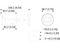 Dahua IPC 4MP 3,6mm IR 30m IP67 DC12V PoE - 555078 - zdjęcie 2