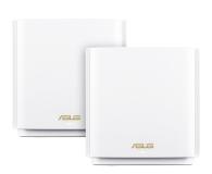 ASUS ZenWiFi AX (6600Mb/s a/b/g/n/ac/ax) zestaw 2szt. - 557998 - zdjęcie 1
