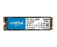 Crucial 500GB M.2 PCIe NVMe P2 - 558426 - zdjęcie 1