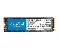 Crucial 250GB M.2 PCIe NVMe P2 - 558425 - zdjęcie 1