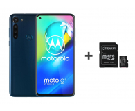 Motorola Moto G8 Power 4/64GB Dual SIM Capri Blue + 64GB - 543496 - zdjęcie 1