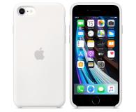 Apple Silicone Case do iPhone 7/8/SE biały - 567456 - zdjęcie 2
