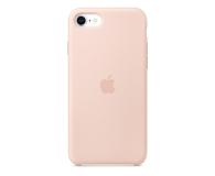 Apple Silicone Case do iPhone 7/8/SE piaskowy róż - 567455 - zdjęcie 1