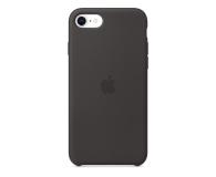 Apple Silicone Case do iPhone 7/8/SE czarny - 567454 - zdjęcie 1
