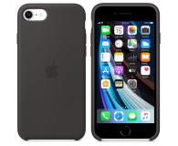 Apple Silicone Case do iPhone 7/8/SE czarny - 567454 - zdjęcie 2