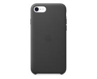 Apple Leather Case do iPhone 7/8/SE czarny - 567459 - zdjęcie 1