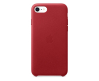 Apple Leather Case do iPhone 7/8/SE (PRODUCT) RED - 567462 - zdjęcie 1