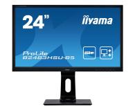 iiyama B2483HSU-B5 czarny - 564333 - zdjęcie 1