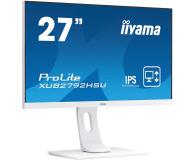 iiyama XUB2792HSU-W1 biały - 564337 - zdjęcie 4