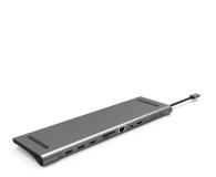 Silver Monkey USB-C - HDMI, USB, RJ-45, mini DP, SD - 568433 - zdjęcie 1
