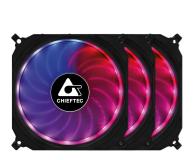 Chieftec Tornado RGB 3x120mm - 572372 - zdjęcie 1