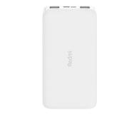 Xiaomi Redmi Power Bank 10000mAh (Biały) - 572312 - zdjęcie 1