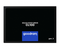 "GOODRAM 120GB 2,5"" SATA SSD CL100 gen.3 - 574528 - zdjęcie 1"